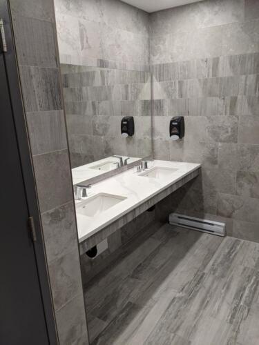 Men's new washroom